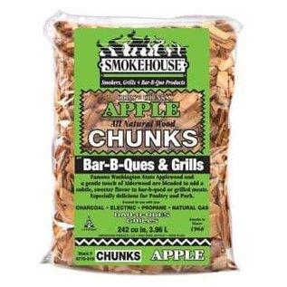 Smokehouse Smokehouse Wood Chunks 1.75 Lb Bag Apple