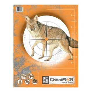 Champion Coyote Paper Target 10pk