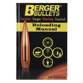 Berger Berger Reloading Manual 1st edition