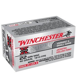 Winchester Winchester Super-X 22 MAG 40 gr JHP, 1910 fps, 50 rnds