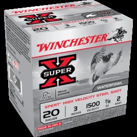 Winchester 20 ga Steel  -  Winchester Super-X Ammo