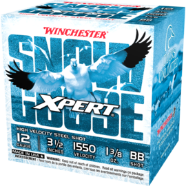 """Winchester Winchester Xpert Snow Goose 12 ga Steel Ammo, 3.5"""", BB, 1 3/8 oz, 1550 fps, 25 rnds"""