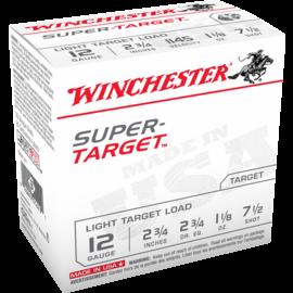 "Winchester Winchester Target 12 ga, 2.75"", #7.5, 1-1/8 oz, 1145 fps, 25 rnds"