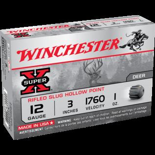 "Winchester Winchester Super-X Rifled Slugs 12 ga, 3"", 1 oz, 1760 fps, 5 rnds"