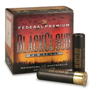 Federal 12 ga Steel  -  Federal Black Cloud  Ammo