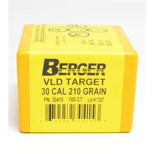 Berger Berger Bullets .308, 210 gr VLD Target, 100 Rnds