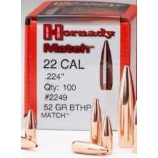 Hornady Hornady BTHP Match .224, 52 gr Bullets, 100 rnds