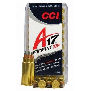 CCI CCI A17 Varmint Tip 17 hmr 17gr Poly Tip 50 Rnds