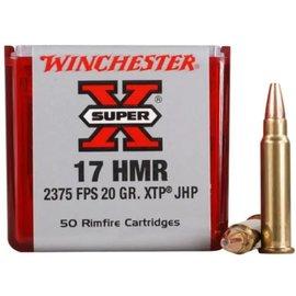 Winchester Winchester Super-X  17 hmr 20 gr JHP, 50 rnds