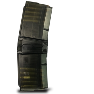 Cross 10/10 Cross Mag, 223, 10 Rnd coupling magazine set for AR-15 Pistol, Black. Includes 2 10rnd Mags and Coupler