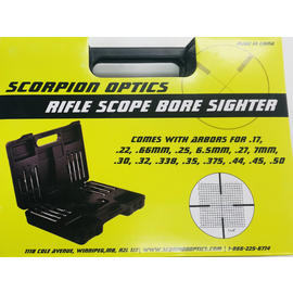 Scorpion Scorpion Boresighter Kit .17-.50 cal