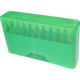 MTM MTM J-20 Slip Top Ammo Box Clear Green