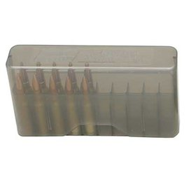 MTM MTM J-20 Slip Top Ammo Box Clear Smoke