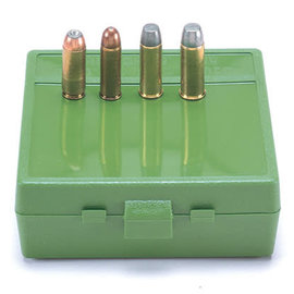 MTM MTM Large Pistol Calibre Ammo Box 64 rnd  Green