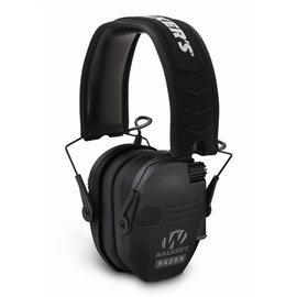 Walkers Walkers Razor Slim Shooter Folding Electronic Ear Muff, NRR23dB, Low Profile, HD Sound, Black