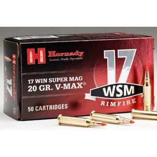 Hornady Hornady  Varmint Express 17 WSM, V-Max 20 gr 50rnds