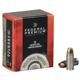 Federal Federal Premium 357 Mag, 158 gr Hydra-Shok JHP, 1240 fps, 20 rnds
