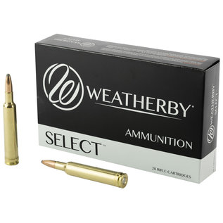 Weatherby Weatherby Select Rifle Ammuniton