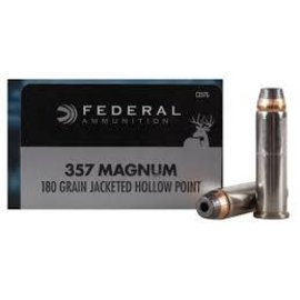 Federal Federal Power-Shok 357 MAG, 180 gr JHP, 1080 fps, 20 Rnds
