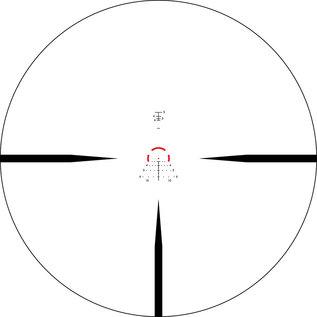 Vortex Vortex Strike Eagle 1-6x24 with AR-BDC3