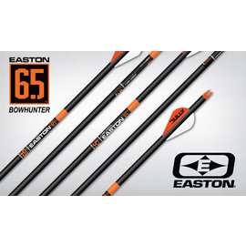 "Easton Easton 6.5 Bowhunter Arrows, ""S"", 6pk 400"