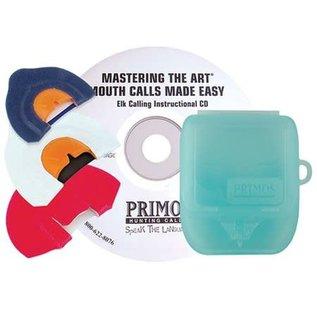 Primos Primos Mastering the Art Elk Mouth Calls 3 pk and DVD