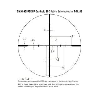 Vortex Vortex Diamondback HP 4-16x42 Riflescope BDC