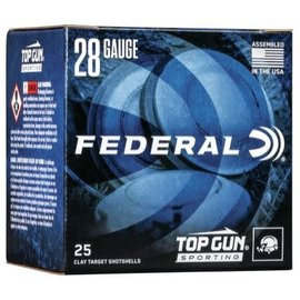 "Federal 28 ga Lead  -  Federal Top Gun Shotshell 2-3/4"" #7"