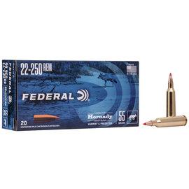 Federal Federal Varmint & Predator 22-250 Rem 55 gr V-Max