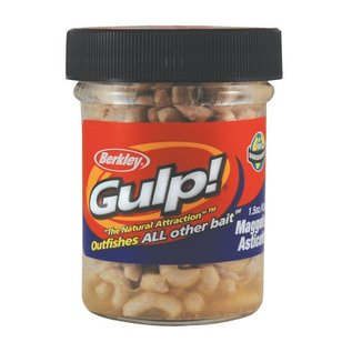 Berkley Berkley Gulp Maggot, 1 1/2 oz, White