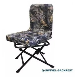 Swivel Chair with Backrest