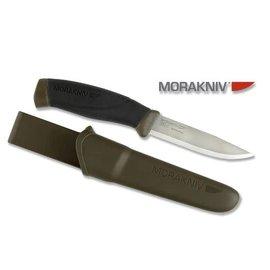 "Mora Morakniv Mora of Sweden Military Green Companion Knife 4.1"""