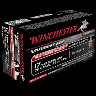 Winchester Winchester Varmint HE Rimfire Ammo 17 WSM 25gr