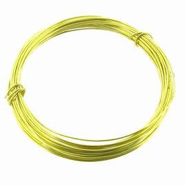 22 ga Brass Snare Wire 25'