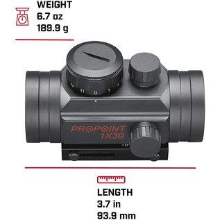 Tasco Tasco Pro Point 1x30mm 5 MOA Red Dot Rifle Scope