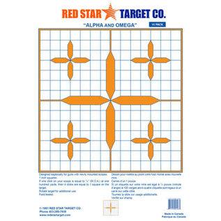 Red Star Red Star Alpha & Omega Target 10pk