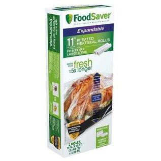 "Foodsaver Foodsaver 11""x16' Roll, 2-Pack"