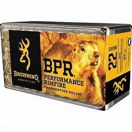 Browning Browning 22 lr 37 gr Fragmenting HP, 1400 fps, 50 rnds