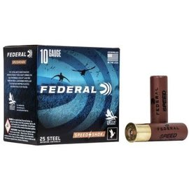 "Federal 10 ga Steel  -  Federal Speed-Shok  3.5""  BB 25 rnds"