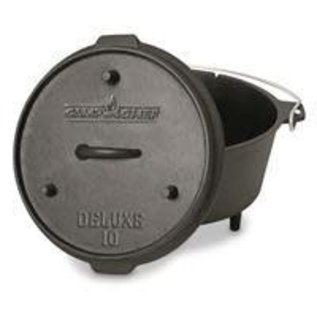 """Camp Chef Camp Chef 12"""" Cast Iron Deluxe Dutch Oven"""