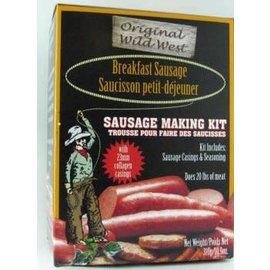 Wild West Wild West Breakfast Sausage Kit