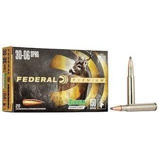 Federal Federal Premium 30-06 SPR 150 gr Sierra Gameking BTSP 2910 fps, 20 rnds