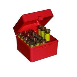 MTM MTM 12 ga Ammo Box 25 rnd , Red