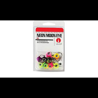 Neon Moon Eye Jigs 3D Holographic Eye 1/4 oz 10 Pcs