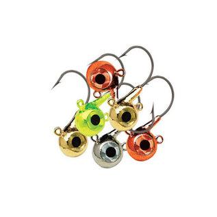 Northland Northland Eye Ball Jig Metallic 3/8 oz 6 Pcs