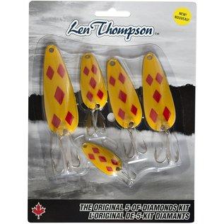 Len Thompson Len Thompson 5 Piece Yellow & Red Five of Diamonds Kit-1 oz;3/4 oz;5/8 oz;1/2 oz;1/4 oz