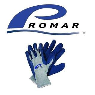 Promar Promar Blue Latex Grip Gloves Large