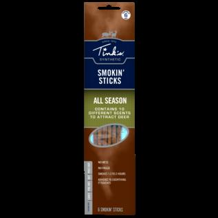 Tink's Tinks Smokin' Sticks Deer Lure All Season, 6 pk