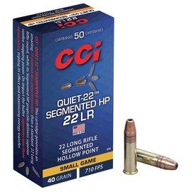 CCI CCI Quiet-22 22 LR 40 gr Segmented HP, 50 rnds
