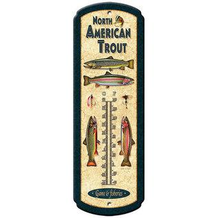 River's Edge River's Edge North American Trout Thermometer